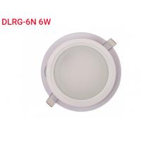 Панель LED круг (стекло) 6w  4000K IP20 (DLRG-6N)
