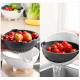Многофункциональная вращающаяся овощерезка Wet Basket Vegetable Cutter