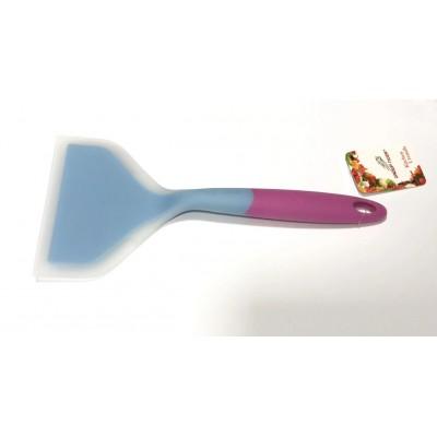 Лопатка силиконовая для жарки широкая 25 см скребок