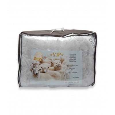 Одеяло Zevs шерстяное 170*210