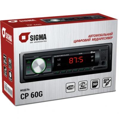 Автомагнитола SIGMA CP 60 Автомобильная магнитола 1DIN