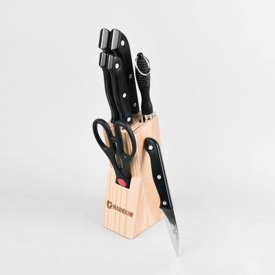 Набор ножей Maestro Basic MR-1402 (8пр.пласт.руч.)