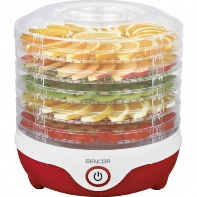 Сушилка для овощей и фруктов Sencor SFD 742 RD