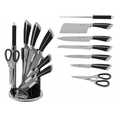 Набор ножей с овощечисткой и мусатом Edenberg EB-3611 - 9 предметов