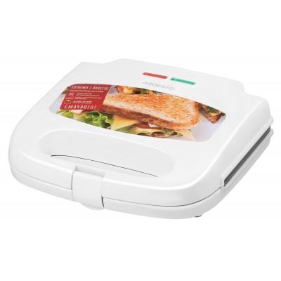 Сэндвичмейкер Ardesto SM-H100W/2 сэндвича/700вт/белый