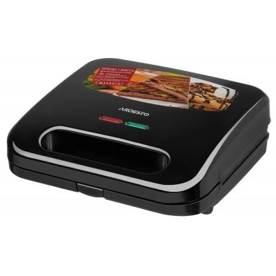 Мультимейкер Ardesto SM-H300B/3 сменных плиты/700 Вт/ черный