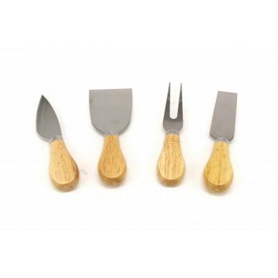 Набор Ножей Для Сыра Деревянная Ручка 4 Шт 75 CK