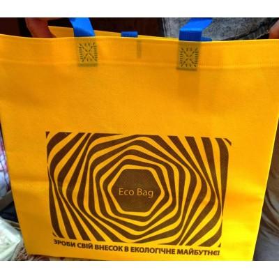 Эко сумка без молнии 35×34×16см 6 рисунков
