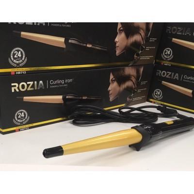 Конусная плойка для завивки волос и локонов Rozia HR-713