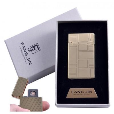 USB зажигалка в подарочной упаковке Абстракция (Двухсторонняя спираль накаливания) №4798C-2