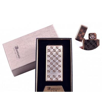 USB зажигалка в подарочной упаковке Broad (Двухсторонняя спираль накаливания) №4850-2