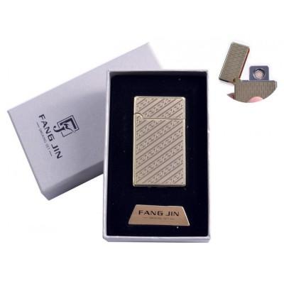 USB зажигалка в подарочной упаковке Абстракция (Двухсторонняя спираль накаливания) №4798B-4