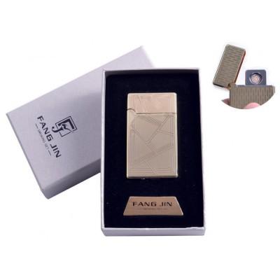 USB зажигалка в подарочной упаковке Абстракция (Двухсторонняя спираль накаливания) №4798B-1