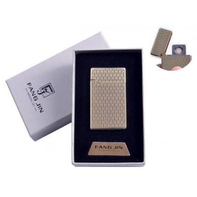 USB зажигалка в подарочной упаковке Абстракция (Двухсторонняя спираль накаливания) №4798B-3