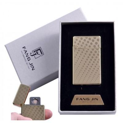 USB зажигалка в подарочной упаковке Абстракция (Двухсторонняя спираль накаливания) №4798C-5