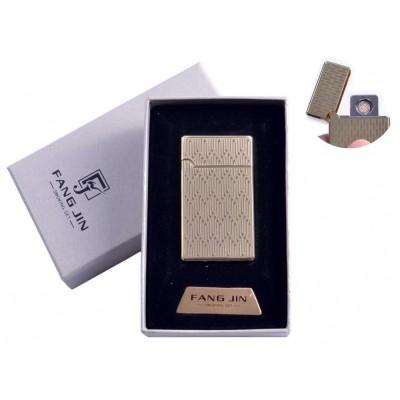 USB зажигалка в подарочной упаковке Абстракция (Двухсторонняя спираль накаливания) №4798B-2