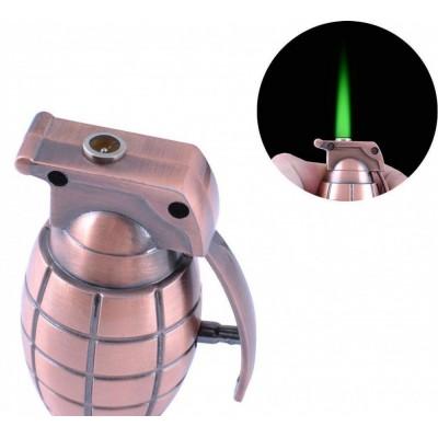 Зажигалка газовая Граната (Турбо пламя) №3084-1