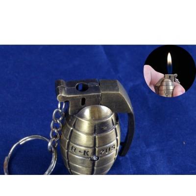 Зажигалка-брелок граната №1952-1