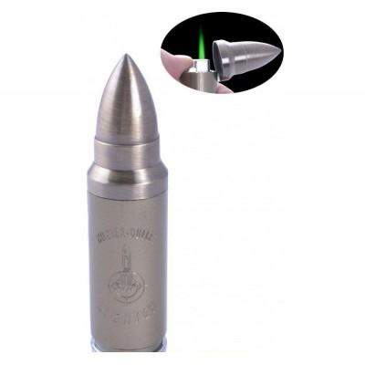 Зажигалка карманная Пуля (прикол, бьет током) №4131