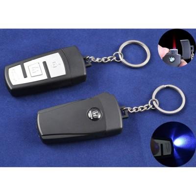 Зажигалка-брелок ключ от авто Honda (Турбо пламя, Фонарик) №4161-2
