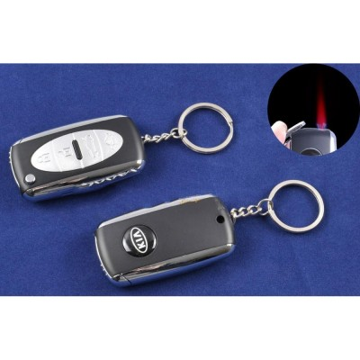 Зажигалка-брелок ключ от авто KIA (Турбо пламя) №4125-3