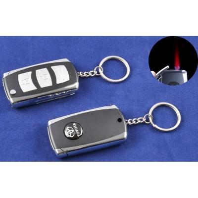 Зажигалка-брелок ключ от авто Toyota (Турбо пламя) №4123-4
