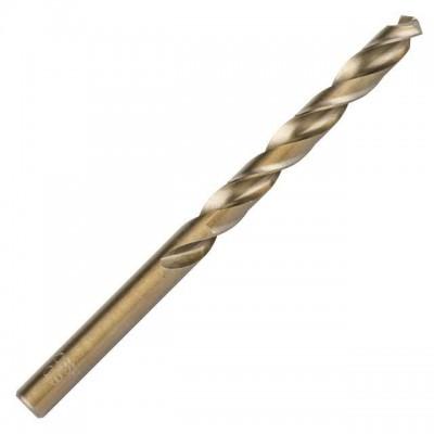 Сверло кобальтовое по металлу 8.0 мм HSS-Co, DIN 338 INTERTOOL SD-5480