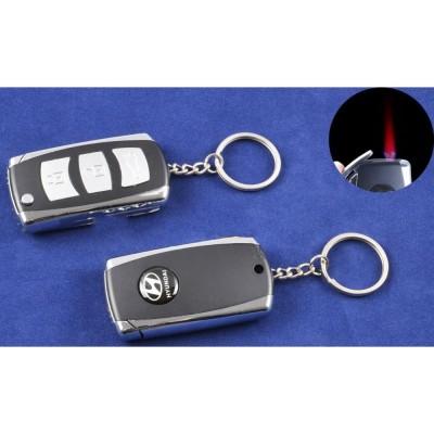 Зажигалка-брелок ключ от авто Hyundai (Турбо пламя) №4123-1
