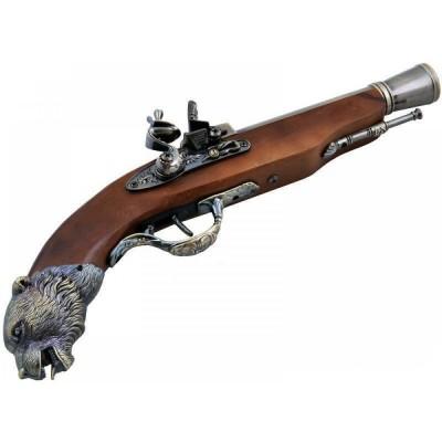 Зажигалка мушкет №0452