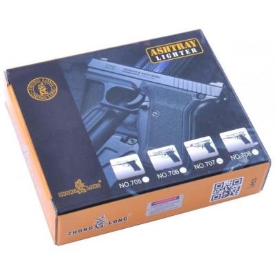 Зажигалка пистолет (Турбо пламя) №3984