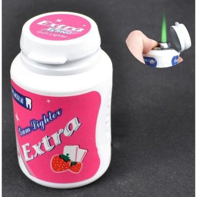 Зажигалка карманная баночка витаминов (турбо пламя) №2273-4