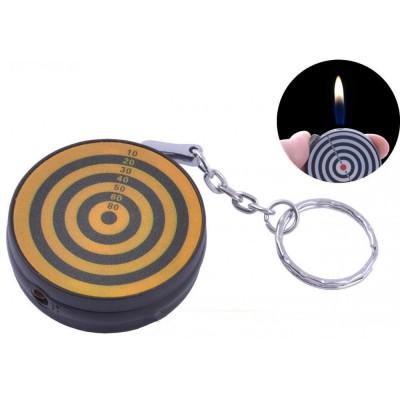 Зажигалка карманная Мишень (обычное пламя) №2408-3