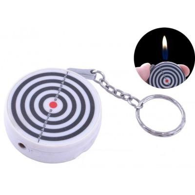 Зажигалка карманная Мишень (обычное пламя) №2408-4