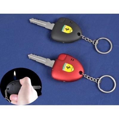 Зажигалка карманная ключ авто Ferrari (обычное пламя) №3780-7
