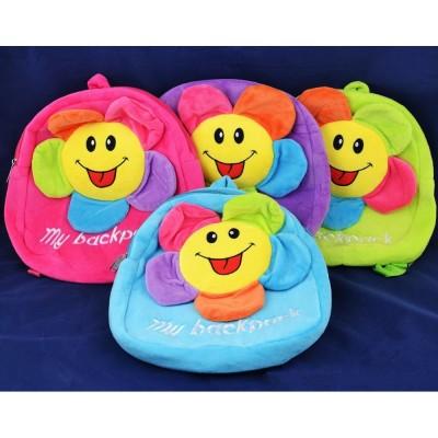Мягкая игрушка-рюкзак Цветочек №491-2