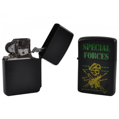 Зажигалка бензиновая STAR  Special Forces BS-0887-4