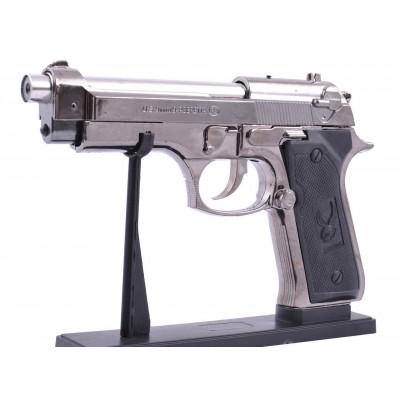 Зажигалка сувенирная Пистолет М-9 (Турбо пламя) №XT-3132