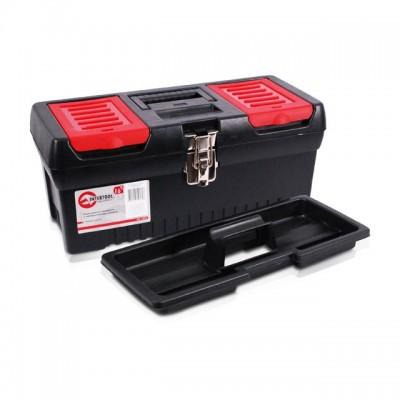 """Ящик для инструментов с металлическими замками, 16"""" 396x216x164 мм INTERTOOL BX-1016"""