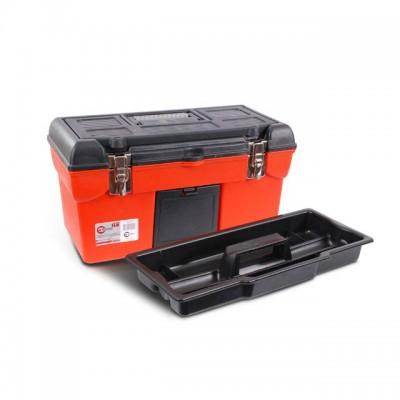 "Ящик для инструмента с металлическими замками 19"" 483x242x240 мм INTERTOOL BX-1119"