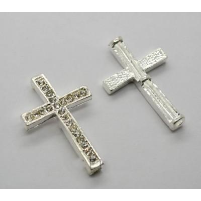 Крест для браслета, 37х25х5мм