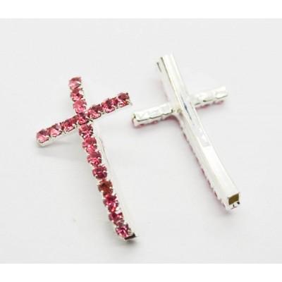 Крест для браслета 30х18х5мм