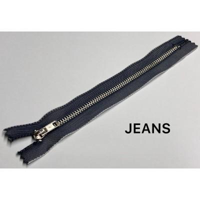 Молния Джинсовая т-4 18см Цвет Индиго (Jeans)