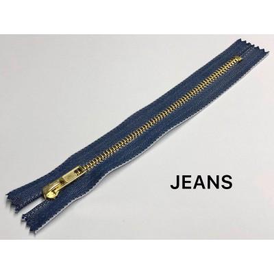Молния Джинсовая т-5 18см Цвет Индиго (Jeans)