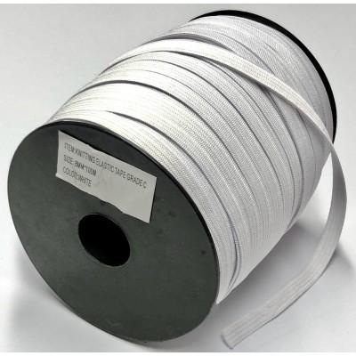 Резинка бельевая 0.8 см (100 метров) Цвет белый