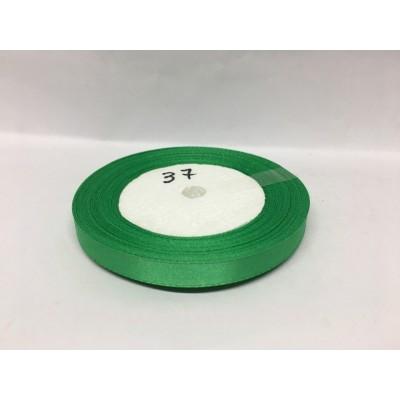 Лента атласная цвет светло-зеленый, ширина 10 мм, длина 23 м