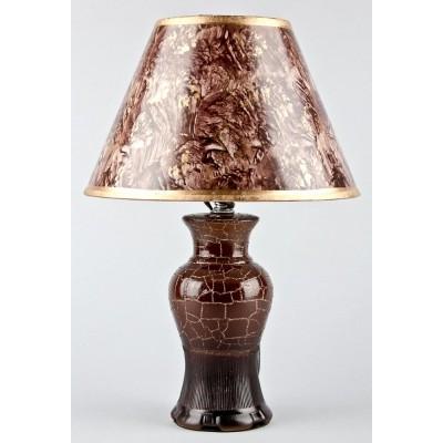 Лампа настольная 1401 (высота - 37 см, 40 W, керамика, Китай)