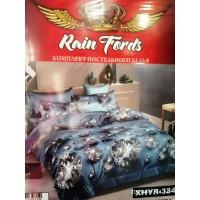 Комплект постельного белья Rain Fords, полированный сатин, размер 1,5ка, очень много расцветок