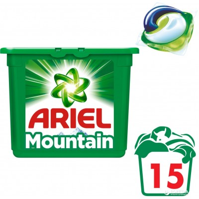 """Капсулы для стирки белого белья """"Ariel"""", 28 шт, в упаковке"""