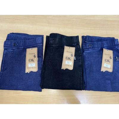 """Эластичные джинсы (джеггинсы) женские, """"Золото"""" 755-13. РОСТОВКА 2XL, 3XL, 4XL"""