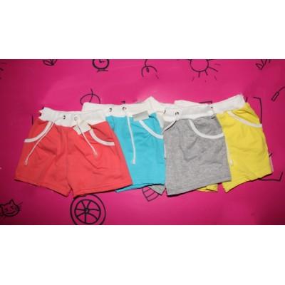 Детские шорты с карманом (фулликра) Размеры 26-34, Артикул: 0213
